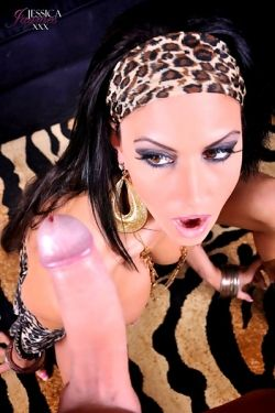 Jessica Jaymes takes giant cock