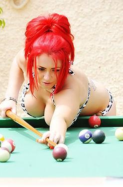 Holly Hagan Bikini Pool