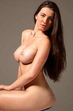 Big boobs sexy brunette