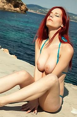 Gorgeous Redhead Ariel