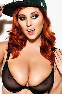 Lucy Collett Topless for Nuts
