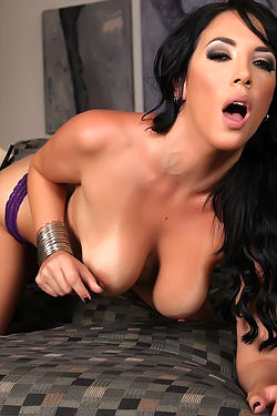 Jelena Jensen Spreads Her Tight Pussy
