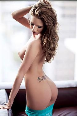 Bree Morgan Showing Off Perky Tits