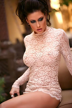 Jessica Jaymes - See Through Dress