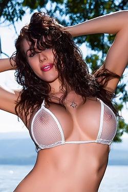 Katie Banks White Shawl