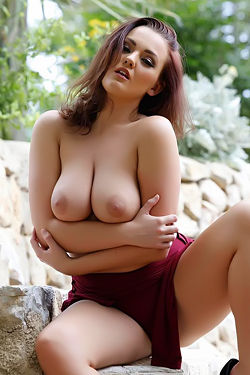 Jodie Gasson Nude Outdoors