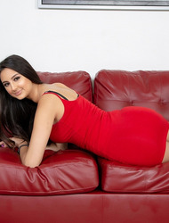 Sexy Babe In Red Eliza Ibarra